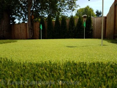 Golf Putting Green Installation
