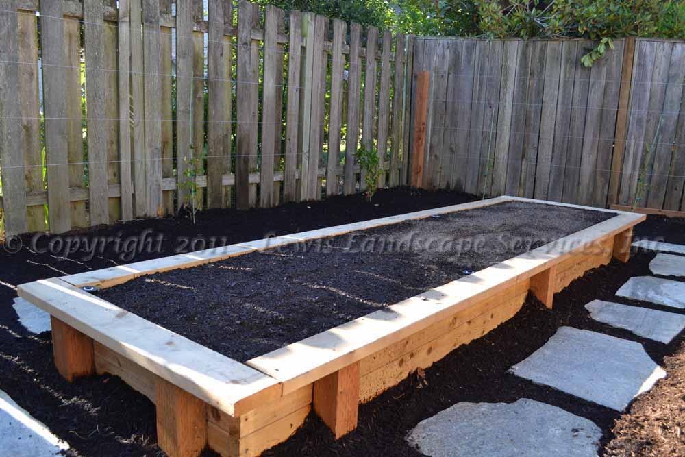 Cedar Raised Beds Garden Boxes Portland OR