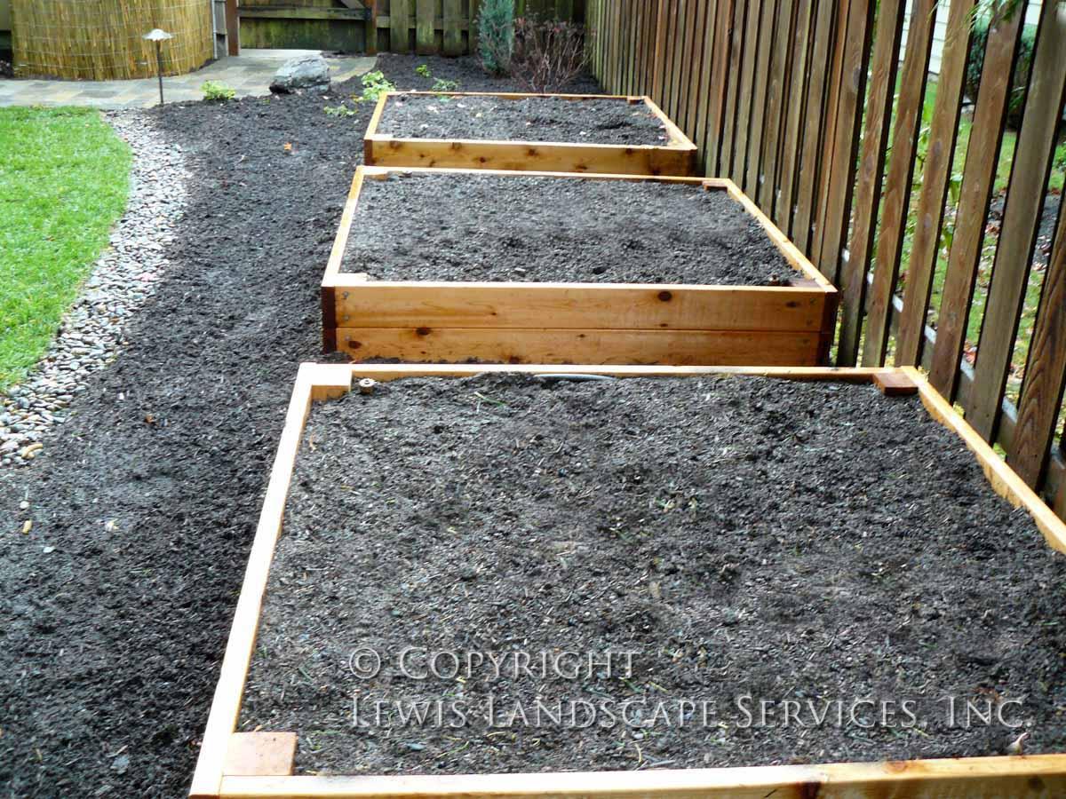 Cedar Raised Beds Garden Boxes Portland, OR